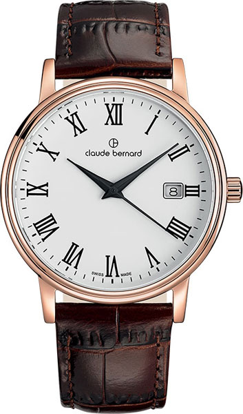 Мужские часы Claude Bernard 53007-37RBR все цены