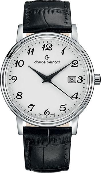 где купить  Мужские часы Claude Bernard 53007-3BB  по лучшей цене
