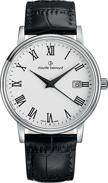 Мужские часы Claude Bernard 53007-3BR мужские часы claude bernard 53003 3br