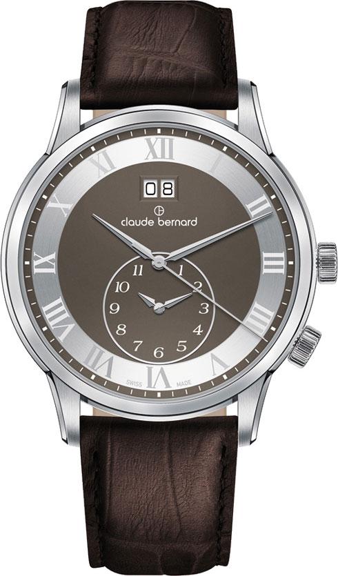 Мужские часы Claude Bernard 62007-3GRN