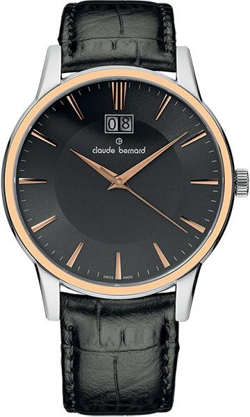 где купить  Мужские часы Claude Bernard 63003-357RGIR  по лучшей цене