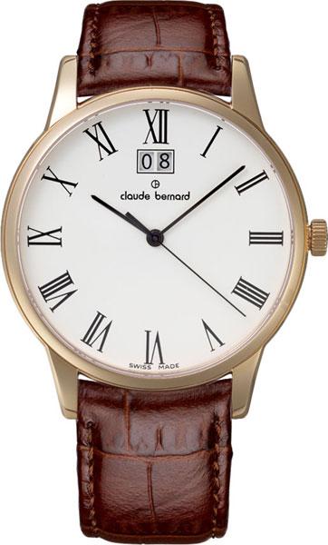 Мужские часы Claude Bernard 63003-37RBR