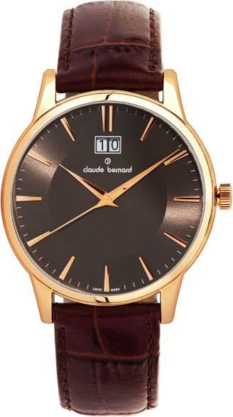 где купить  Мужские часы Claude Bernard 63003-37RBRIR  по лучшей цене