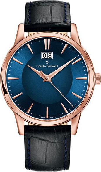 лучшая цена Мужские часы Claude Bernard 63003-37RBUIR