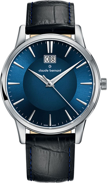 где купить  Мужские часы Claude Bernard 63003-3BUIN  по лучшей цене