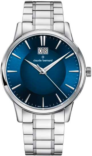 Мужские часы Claude Bernard 63003-3M2BUIN все цены