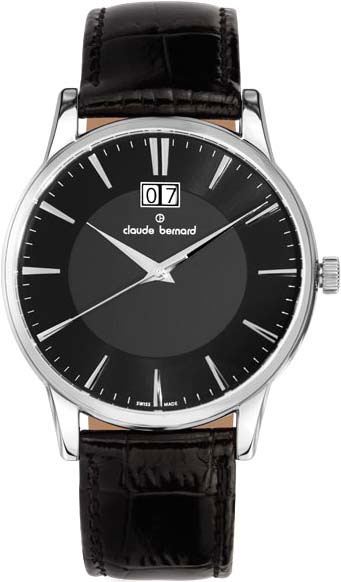 лучшая цена Мужские часы Claude Bernard 63003-3NIN
