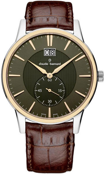 Мужские часы Claude Bernard 64005-357RGIR