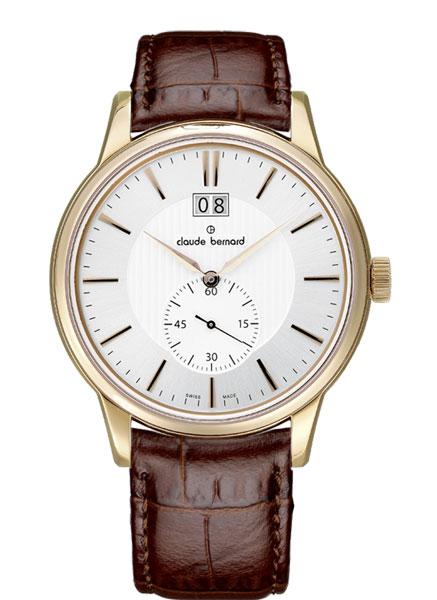 цена Мужские часы Claude Bernard 64005-37RAIR онлайн в 2017 году