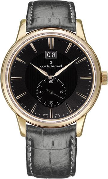 Мужские часы Claude Bernard 64005-37RGIR