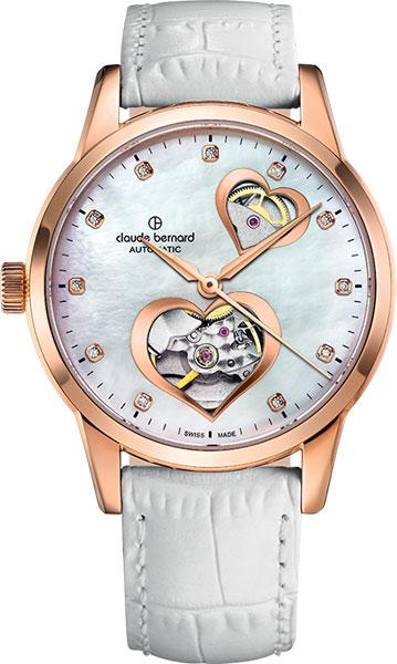 Женские часы Claude Bernard 85018-37RNAPR2 чехол на ремень victorinox для ножей 91 мм толщиной 5 8 уровней кожаный чёрный 1100102