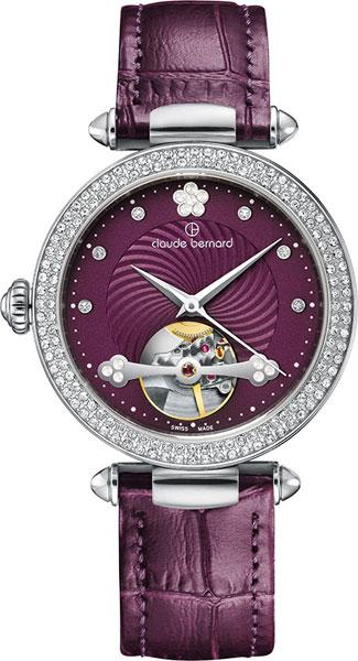 Купить Наручные часы 85023-3PVIOPN  Женские наручные швейцарские часы в коллекции Dress Code Claude Bernard
