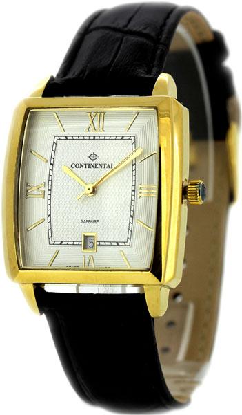 Мужские часы Continental 12200-GD254110 continental часы continental 12206 ld354130 коллекция sapphire splendour
