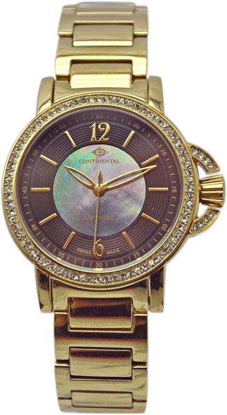 Женские часы Continental 12260-LT202431-ucenka continental часы continental 12206 ld354130 коллекция sapphire splendour