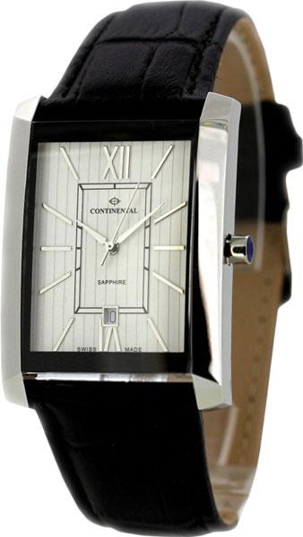 Купить Наручные часы 24100-GD154130  Мужские наручные швейцарские часы в коллекции Classic Statements Continental
