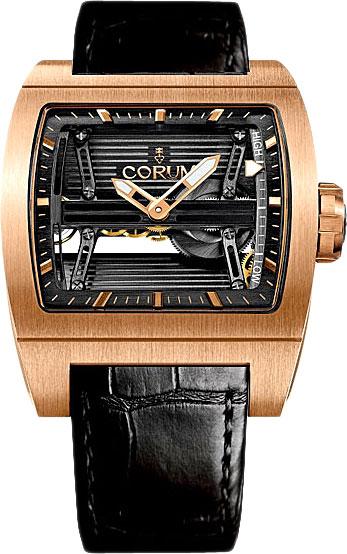 Фото «Швейцарские механические золотые наручные часы Corum 107.201.05/0F81-0000»