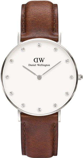 цена Женские часы Daniel Wellington 0960DW онлайн в 2017 году