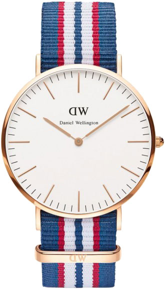 Мужские часы Daniel Wellington 0113DW ремешок для часов daniel wellington dw00200073