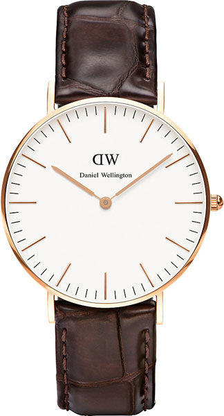 цена Женские часы Daniel Wellington 0510DW онлайн в 2017 году