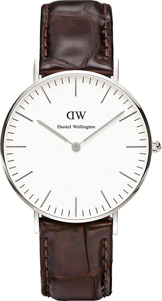 цена Женские часы Daniel Wellington DW00100055 онлайн в 2017 году