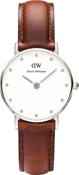 цена Женские часы Daniel Wellington 0920DW онлайн в 2017 году