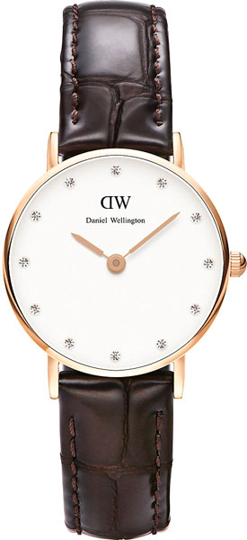 цена Женские часы Daniel Wellington 0902DW онлайн в 2017 году