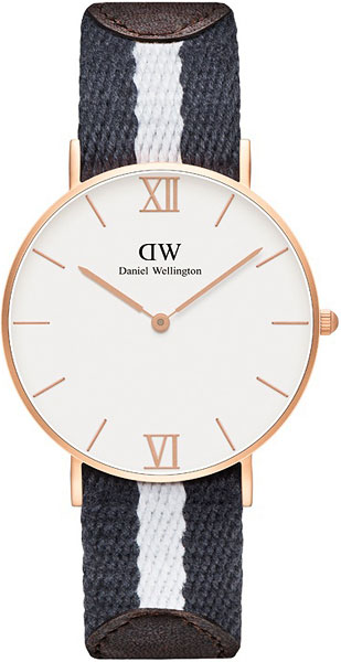 цена Женские часы Daniel Wellington 0552DW онлайн в 2017 году