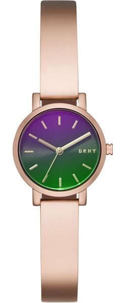 Женские часы DKNY NY2734 chigu фиолетовый с розовым 38 мм