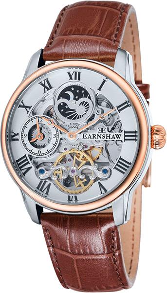 цена Мужские часы Earnshaw ES-8006-03 онлайн в 2017 году