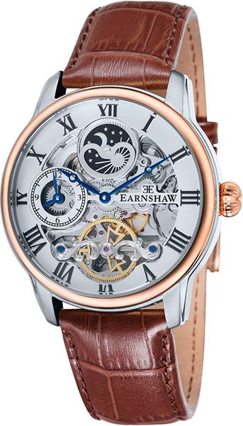 цена Мужские часы Earnshaw ES-8006-08 онлайн в 2017 году