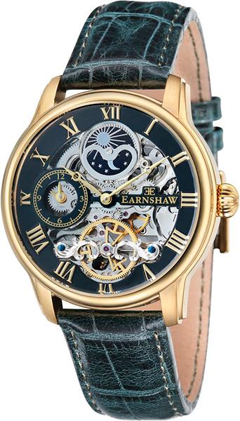 цена Мужские часы Earnshaw ES-8006-09 онлайн в 2017 году