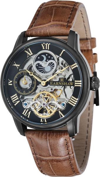 цена Мужские часы Earnshaw ES-8006-10 онлайн в 2017 году