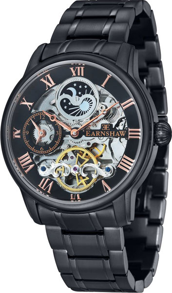 цена Мужские часы Earnshaw ES-8006-55 онлайн в 2017 году