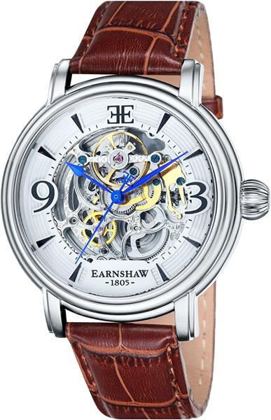 Мужские часы Earnshaw ES-8011-01 купить часы мужские с открытым механизмом