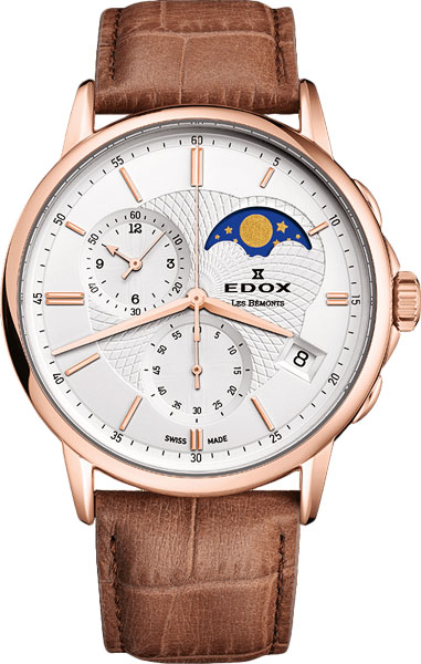 Мужские часы Edox 01651-37RAIR edox les vauberts 63001 37rair