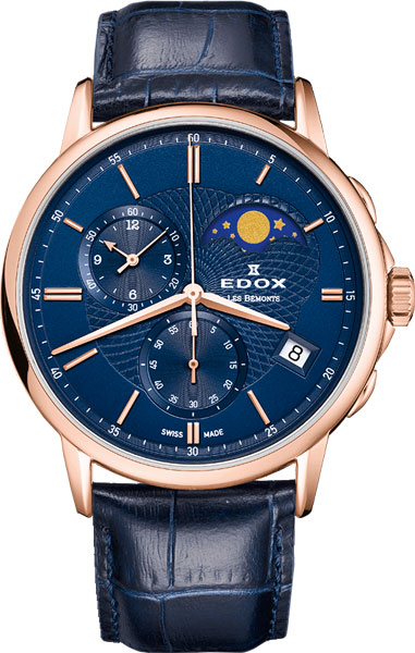 Мужские часы Edox 01651-37RBUIR