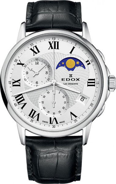 Мужские часы Edox 01651-3AR цена и фото