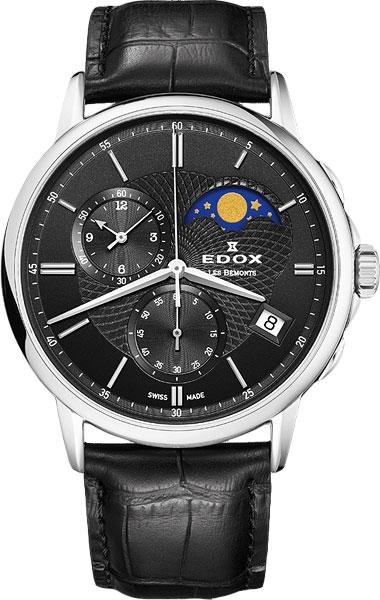 Мужские часы Edox 01651-3NIN цена и фото