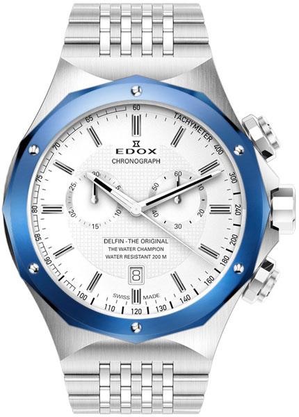 Мужские часы Edox 10108-3BUAIN цена и фото