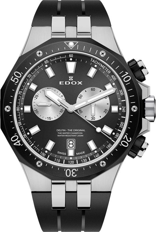 Мужские часы Edox 10109-357NCANINRO