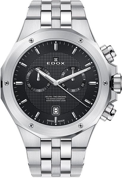 Мужские часы Edox 10110-3MNIN мужские часы edox 38001 tinn1nibu1