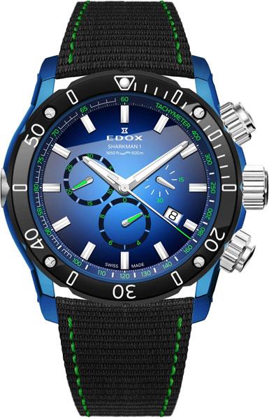 Мужские часы Edox 10221-357BUBUV