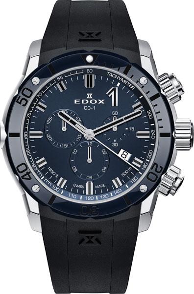 Мужские часы Edox 10221-3BU7BUIN7 цена и фото