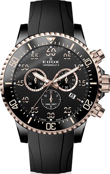 Мужские часы Edox 10227-357RNCANBR oodji 55802098 10227 5000n