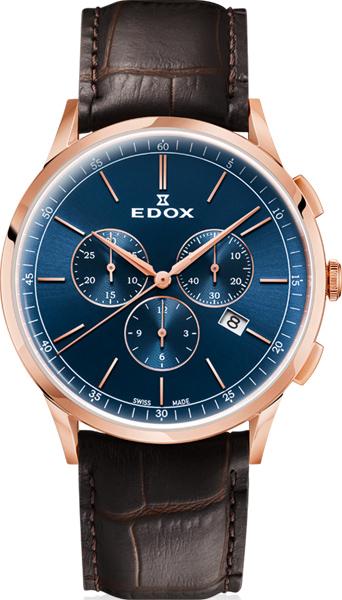 Мужские часы Edox 10236-37RCBUIR мужские часы edox 80088 37nnro2