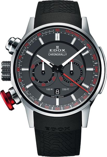 Мужские часы Edox 10302-3GR3 мужские часы edox 10302 3vgin
