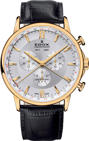 Мужские часы Edox 10501-37JAID цена и фото