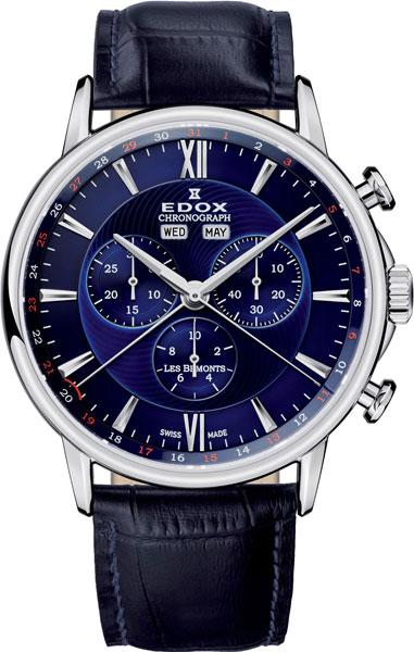 Мужские часы Edox 10501-3BUIN цена и фото