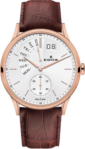 Мужские часы Edox 34500-37RAIR копии швейцарских часов омега