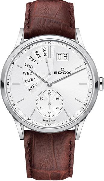 Мужские часы Edox 34500-3AIN копии швейцарских часов омега